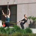 dance anywhere at the Contemporary Jewish Museum
