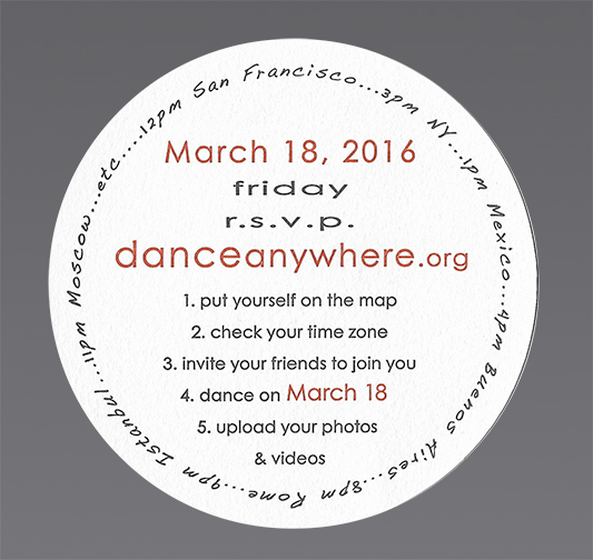 operating instructions for dance anywhere®