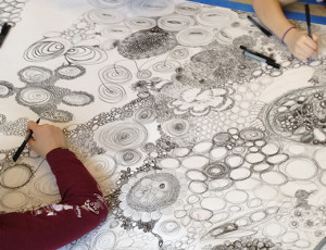 collaborative drawing project / sonja hinrichsen