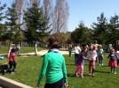 Dancing at Malcolm X Elementary School