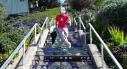 dancing on the steps / San Francisco